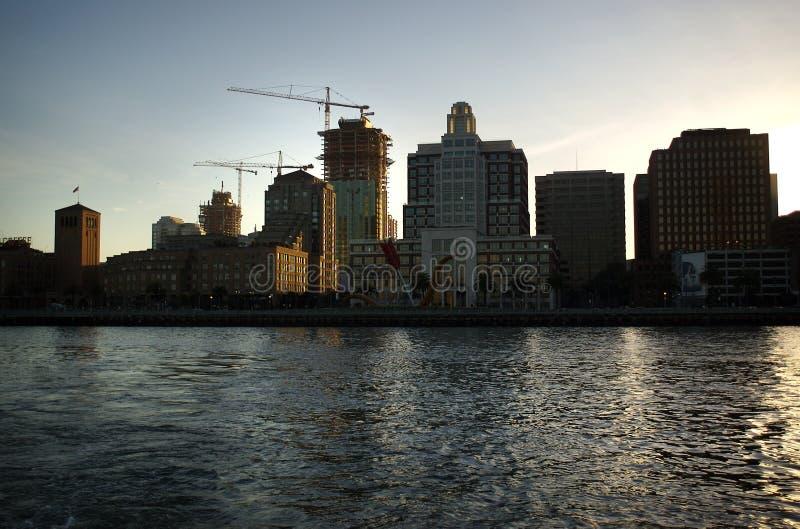 Городской пейзаж Сан-Франциско стоковое фото