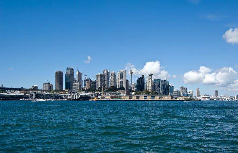 городской пейзаж Сидней стоковые фотографии rf