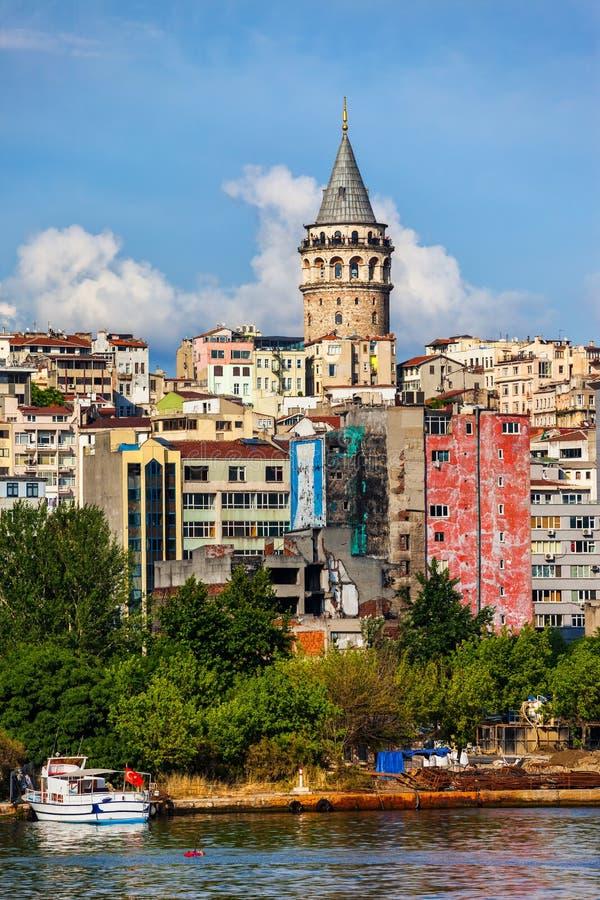 Городской пейзаж Стамбула стоковые фотографии rf
