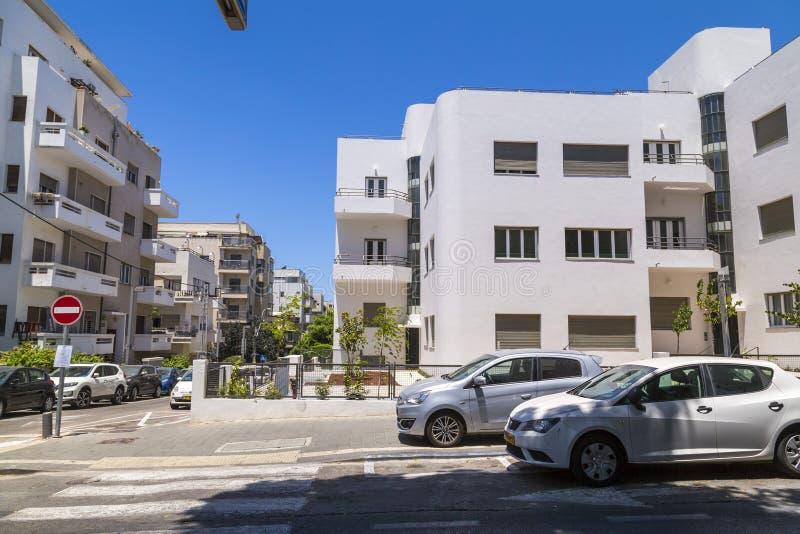 Городской пейзаж Тель-Авив, Израиль стоковые изображения
