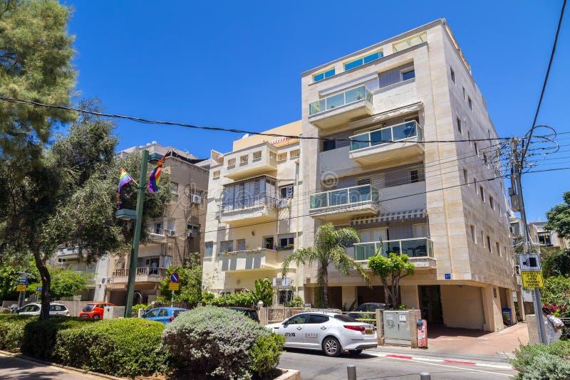 Городской пейзаж Тель-Авив, Израиля стоковая фотография rf