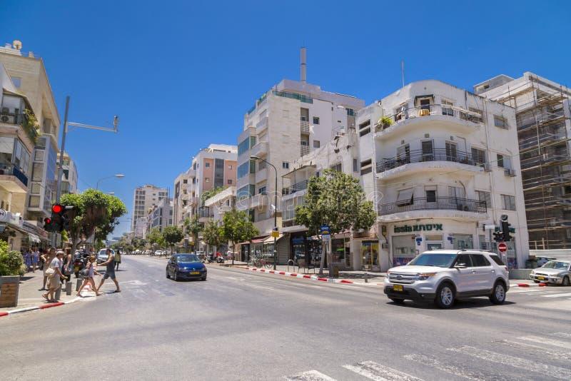 Городской пейзаж Тель-Авив, Израиля стоковые фотографии rf
