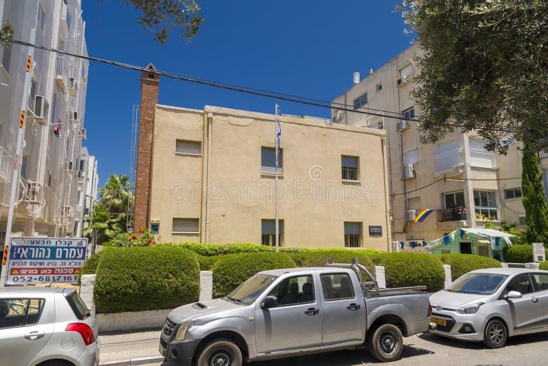 Городской пейзаж Тель-Авив, Израиля стоковые изображения rf