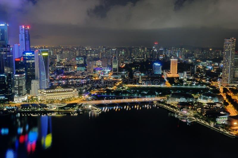 Городской пейзаж 4 Сингапур стоковые изображения