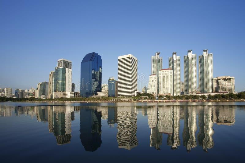 городской пейзаж bangkok стоковая фотография rf