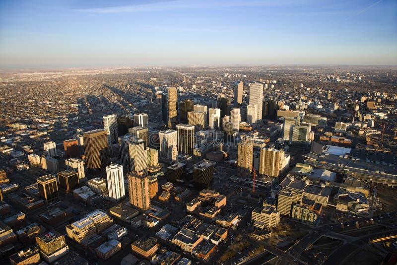 городской пейзаж colorado denver США стоковые изображения rf
