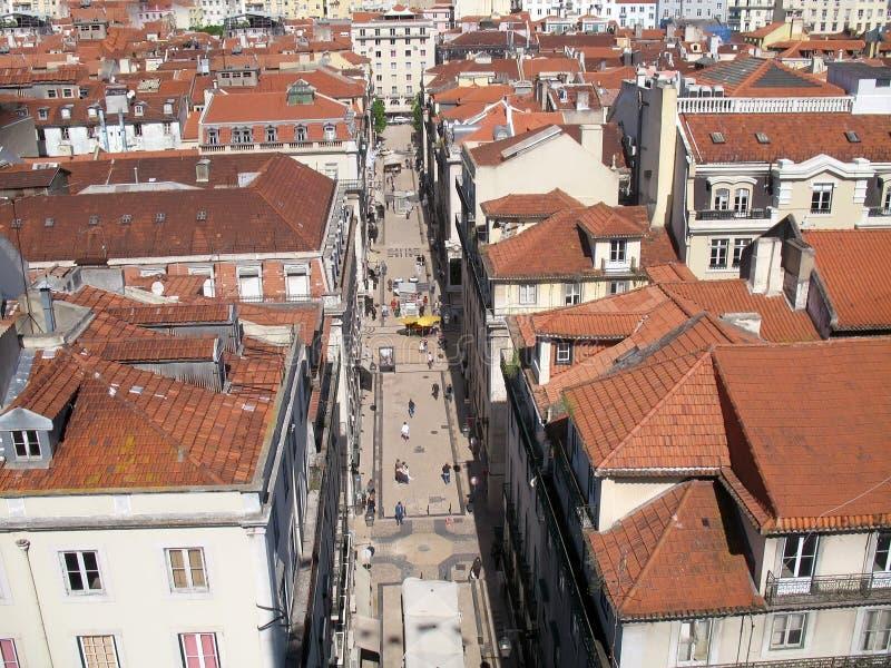 городской пейзаж lisbon стоковые фотографии rf