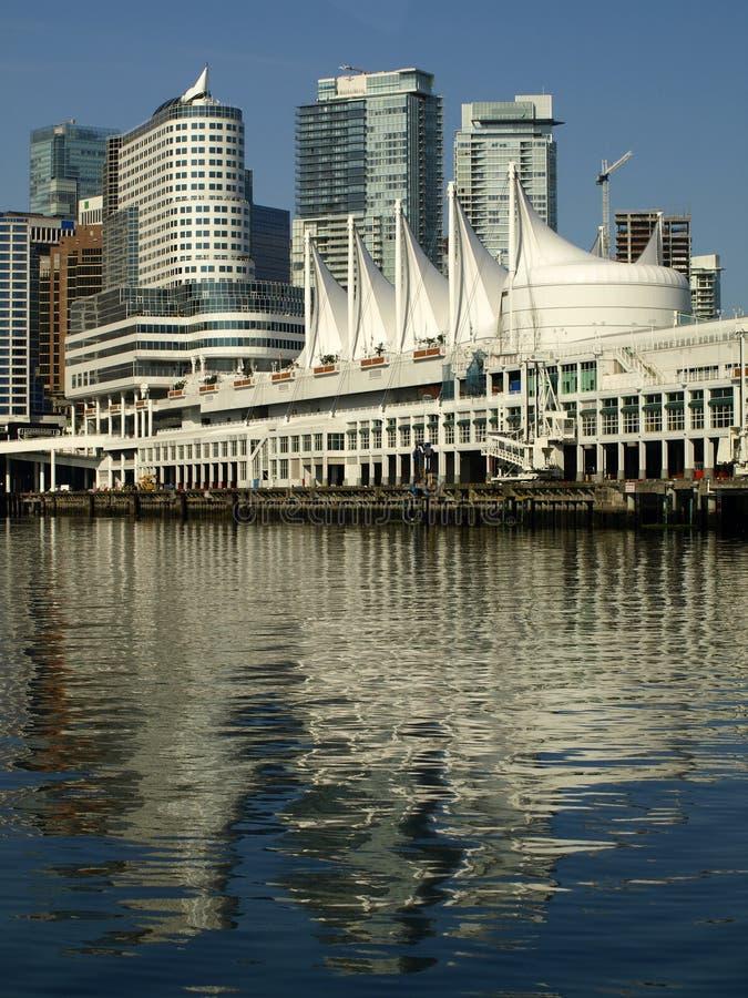 городской пейзаж vancouver Канады стоковое фото