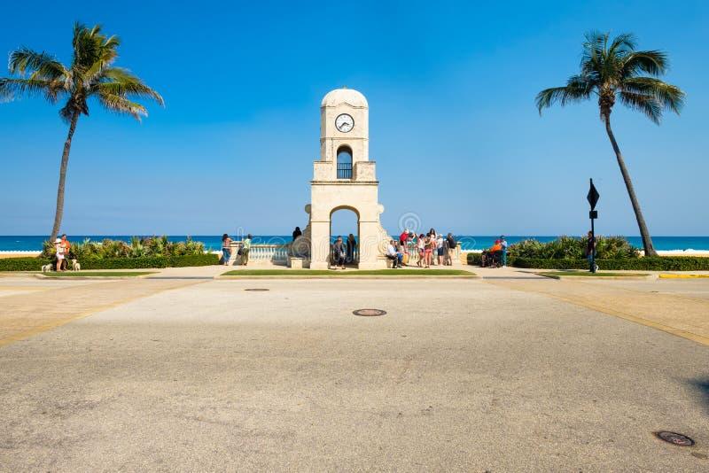 Городской пейзаж West Palm Beach стоковая фотография