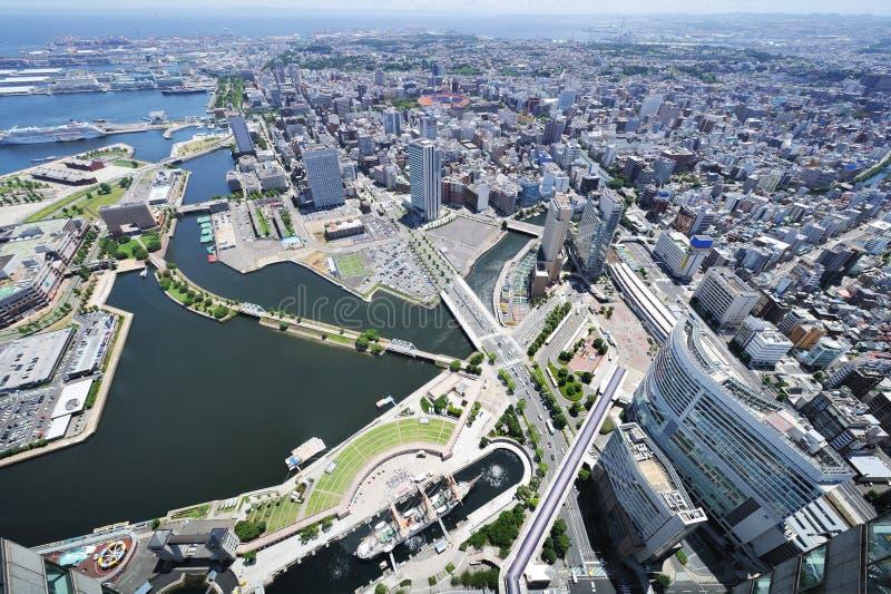 городской пейзаж yokohama стоковое изображение