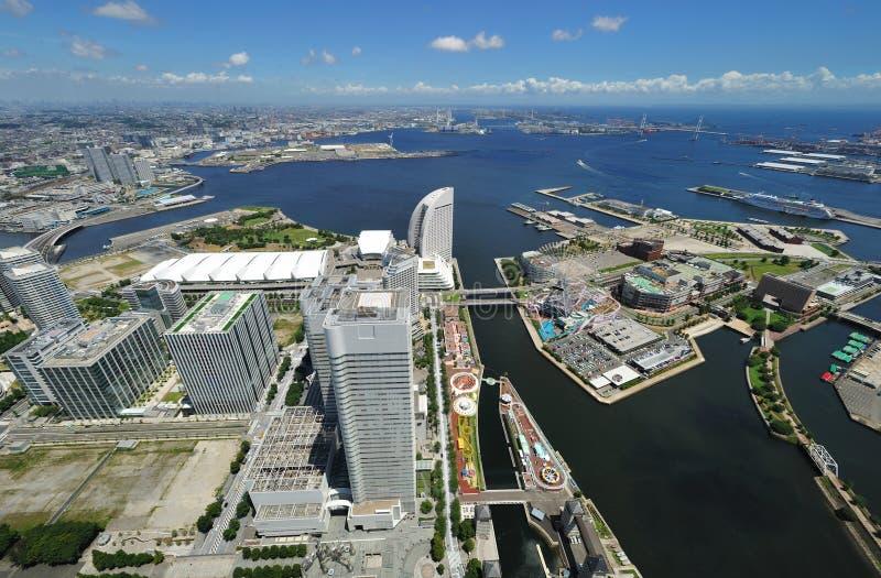 городской пейзаж yokohama стоковые фото