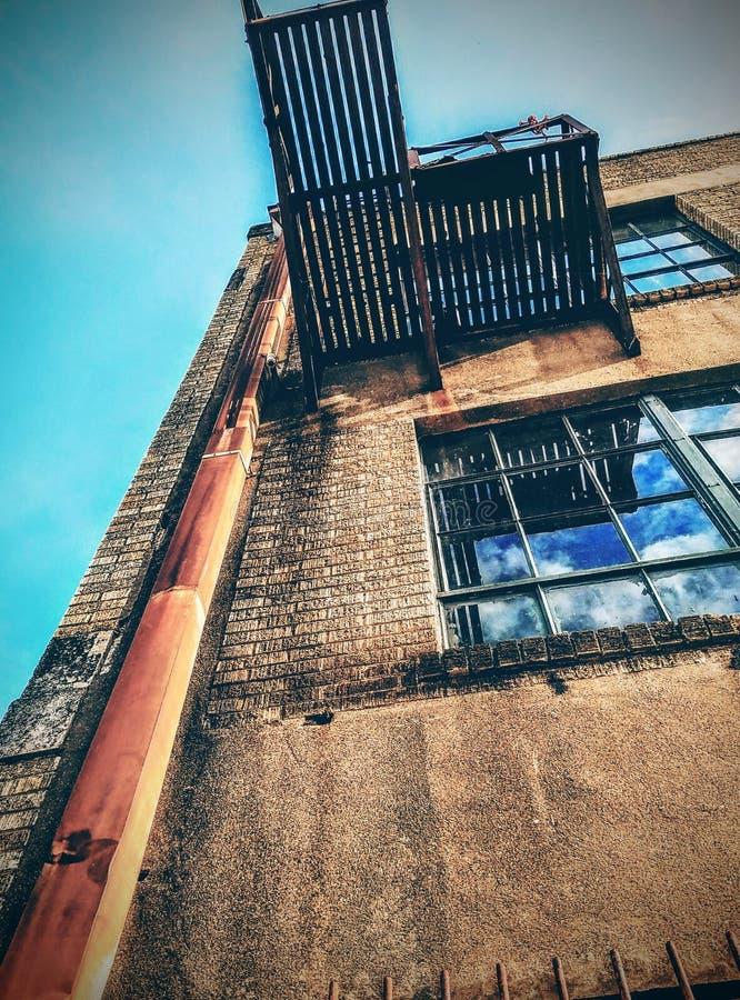Городской смотреть вверх стоковое фото