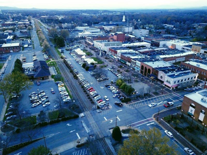 Городской Hickory стоковая фотография rf