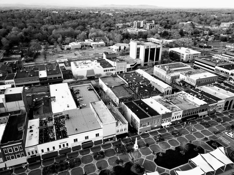 Городской Hickory стоковые изображения rf