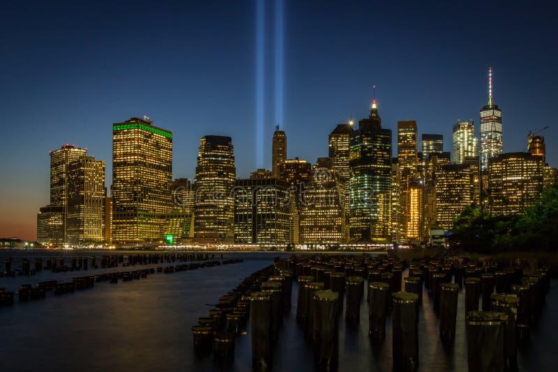 городской manhattan New York стоковое изображение