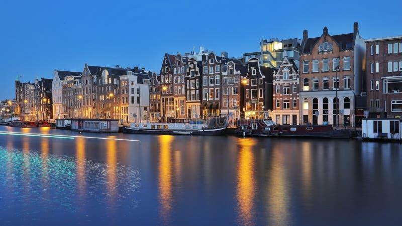 Город Амстердама красивый стоковая фотография rf
