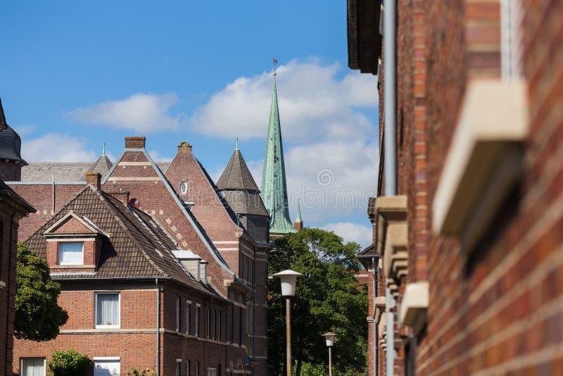 Город более низкая Саксония Германия Emden стоковое изображение rf