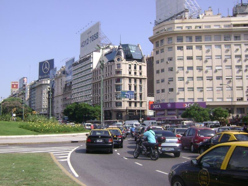 Город Буэноса-Айрес стоковое изображение