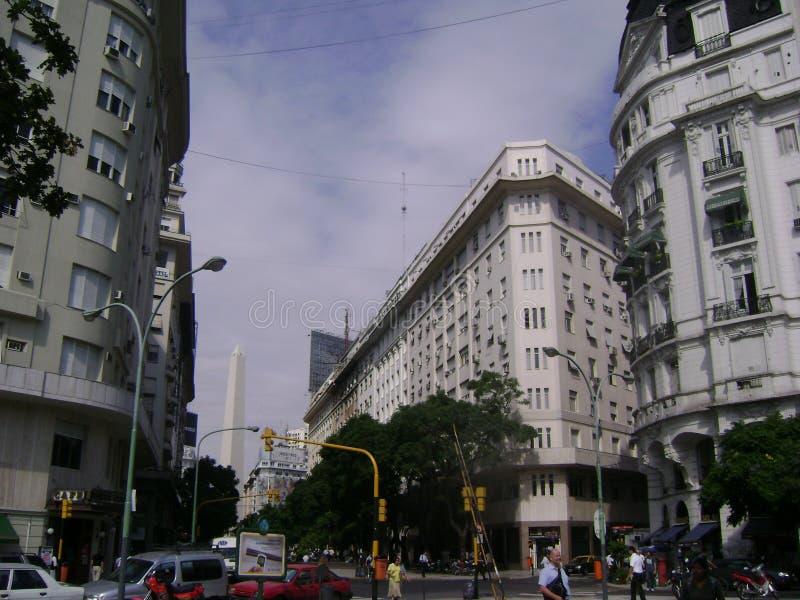 Город Буэноса-Айрес стоковое фото rf