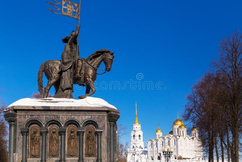 Город Владимира, Россия стоковое изображение rf