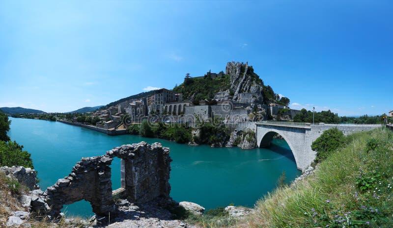 Город во Франции, Провансали стоковое фото rf
