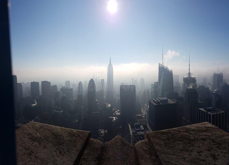 Город в Солнце стоковые фотографии rf