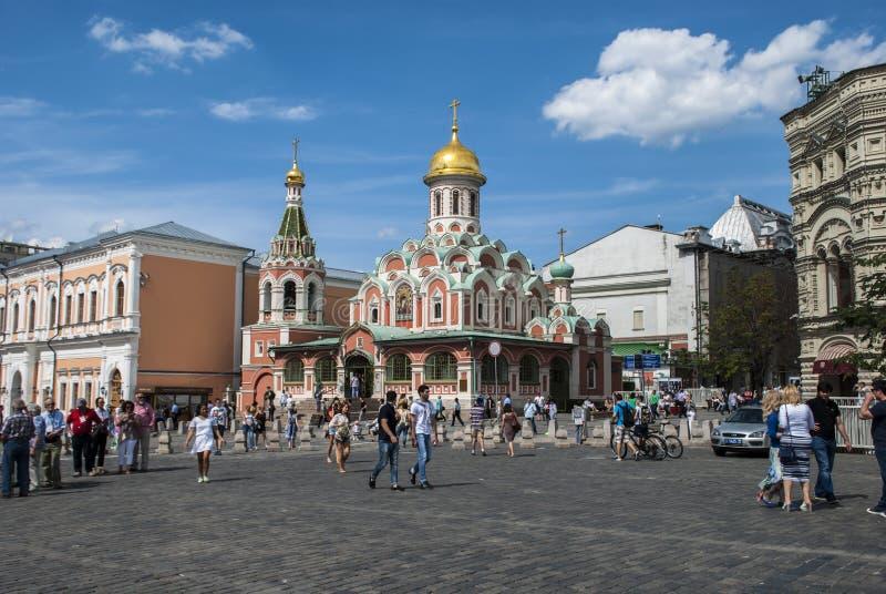 Город героя памятника Москвы стоковые фото