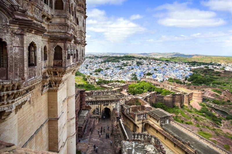 Город Джодхпур, Индия стоковая фотография rf