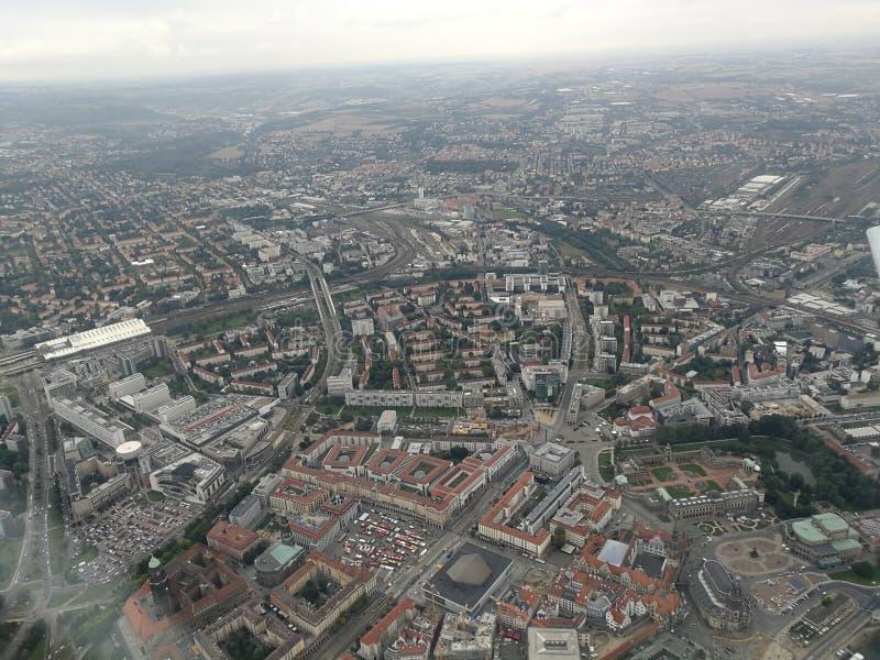 Город Дрездена стоковое изображение