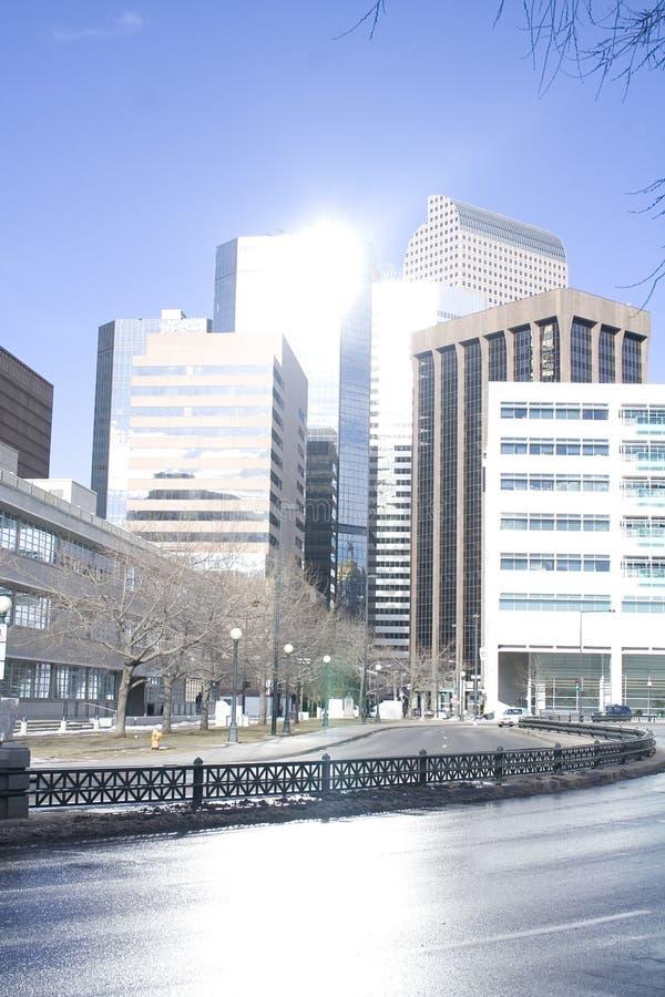 город зданий стоковые изображения