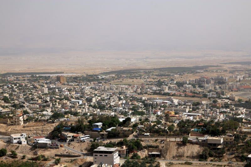 Город Иерихона стоковое фото rf