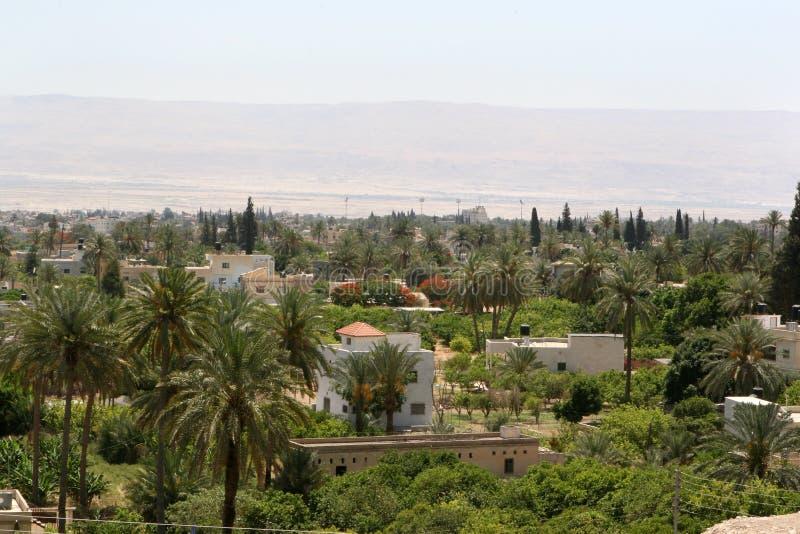 город Израиль jericho стоковое фото