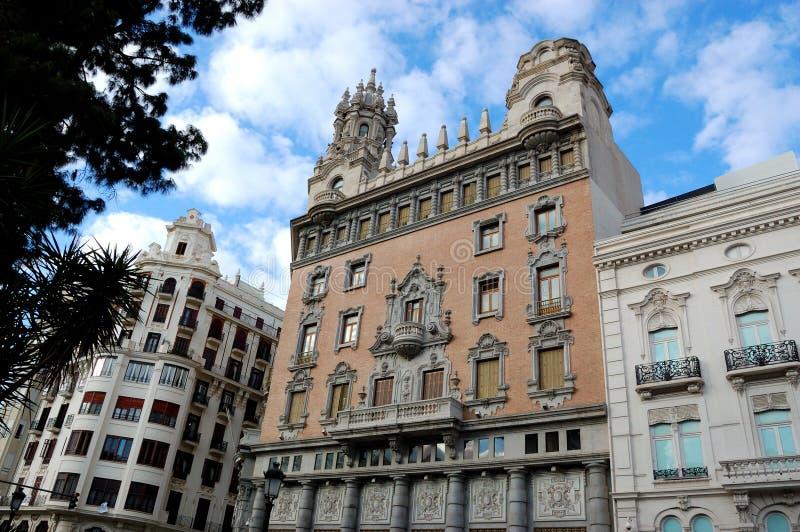 город Испания valencia стоковое изображение rf