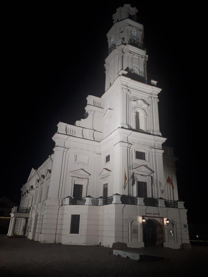 Город Каунаса стоковое изображение rf
