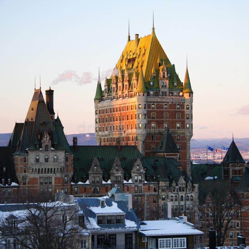 город Квебек стоковое изображение