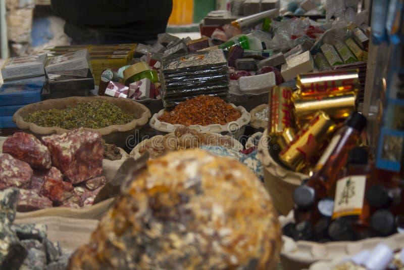 Город ландшафта Израиля Тель-Авив старый Рынок Carmel, набор spic стоковая фотография