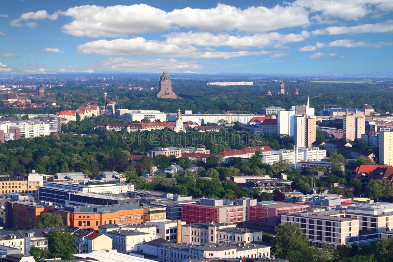 Город Лейпцига, Германия стоковые изображения