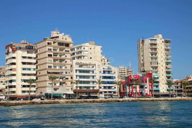 Город Ливан 2017 Tyrus стоковые изображения rf