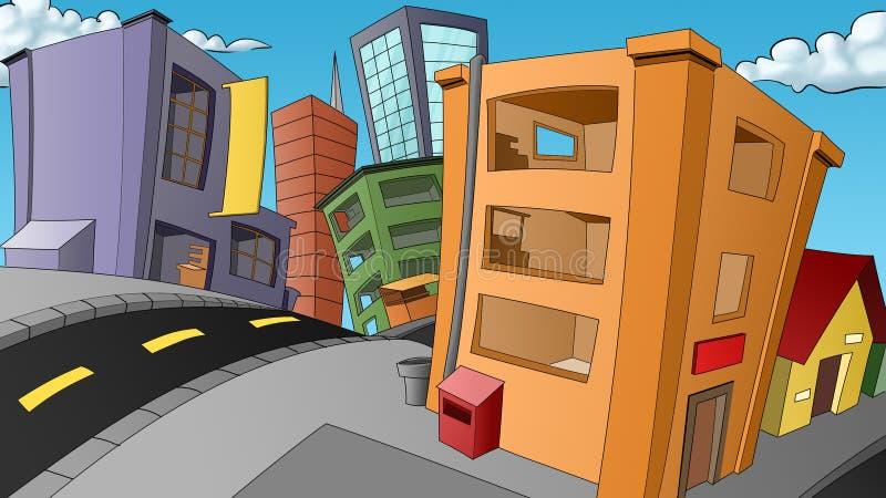 город малый бесплатная иллюстрация