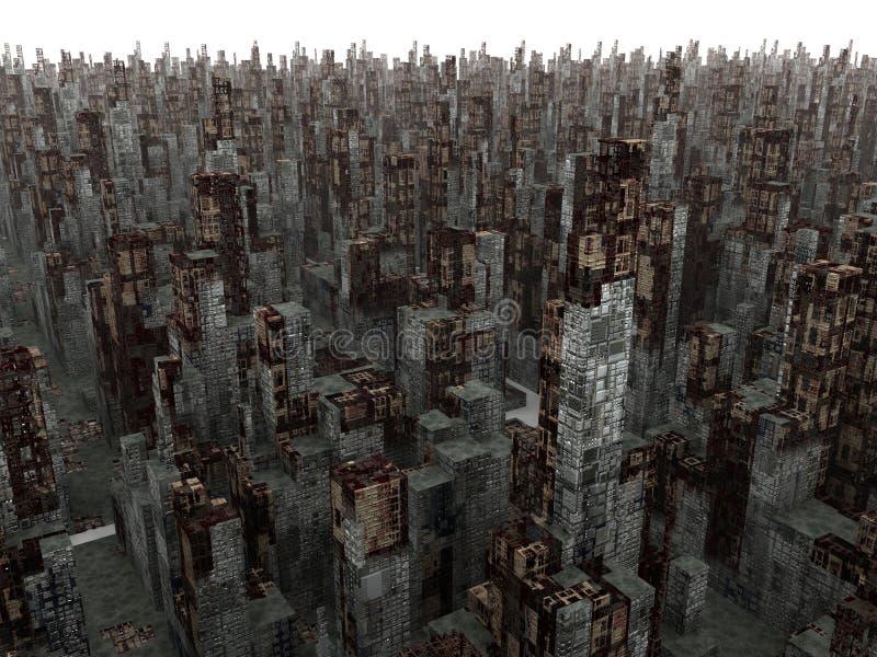 город мертвый бесплатная иллюстрация