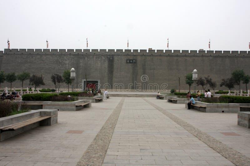 Город огораживает Китай стоковая фотография