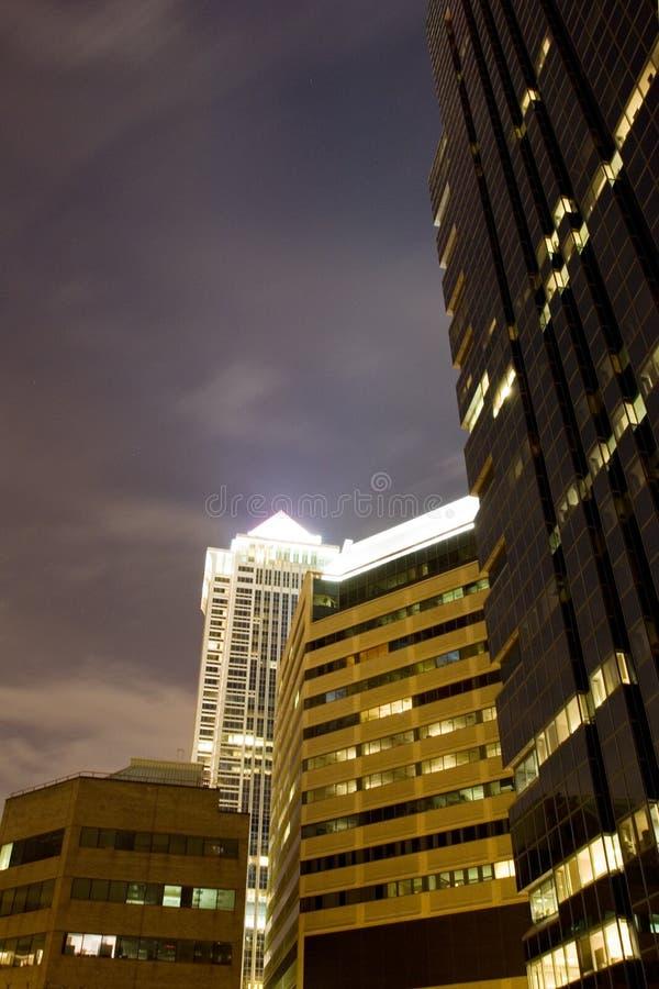 Download город освещает Philadelphia Стоковое Изображение - изображение насчитывающей центр, света: 488289