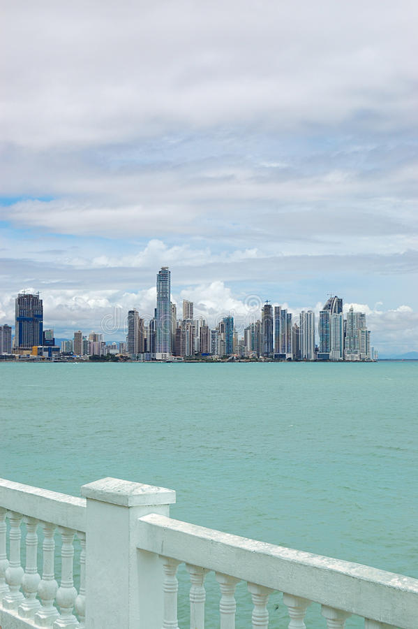 город Панама стоковое фото rf