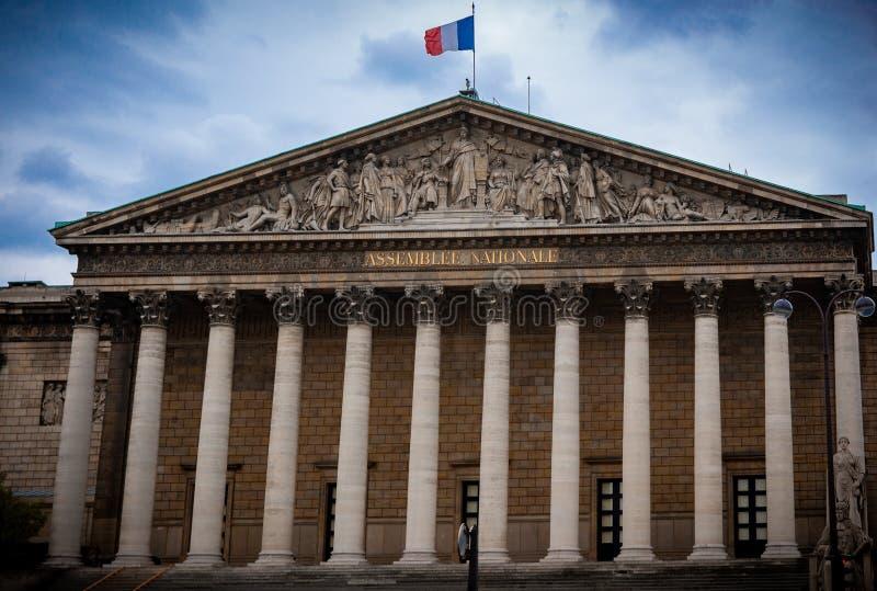 Город Парижа света стоковое изображение rf