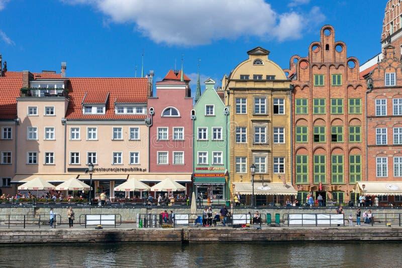 Город Польша Гданьска стоковое фото