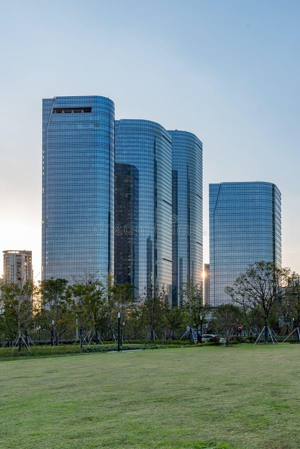 Город промышленного парка Сучжоу стоковые изображения