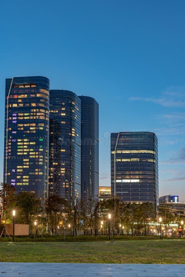Город промышленного парка Сучжоу стоковые фото