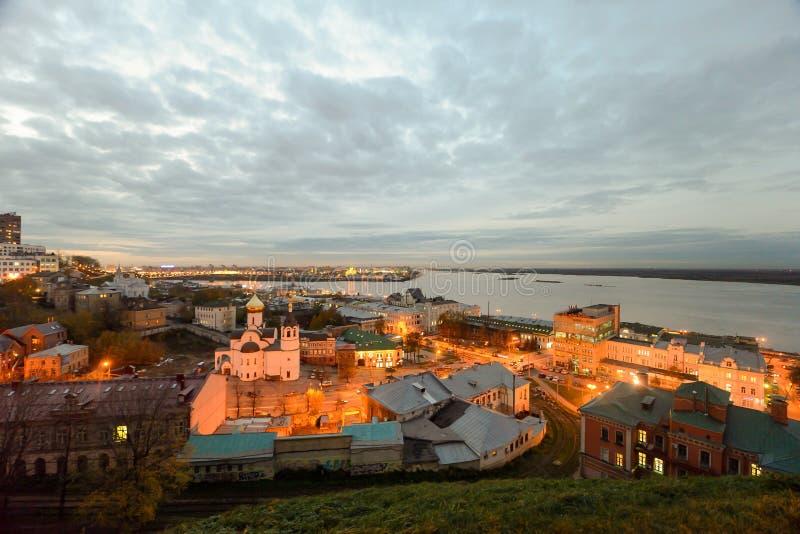 город расквартировывает nizhny novgorod полуфабрикат Россию стоковые изображения rf