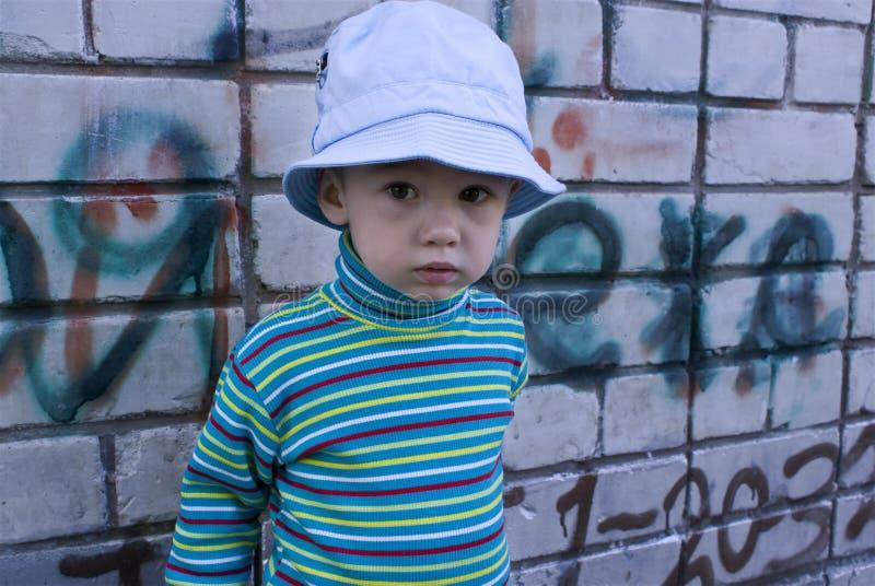 город ребенка стоковая фотография rf
