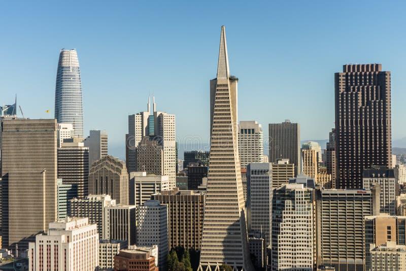 Город Сан-Франциско стоковое изображение